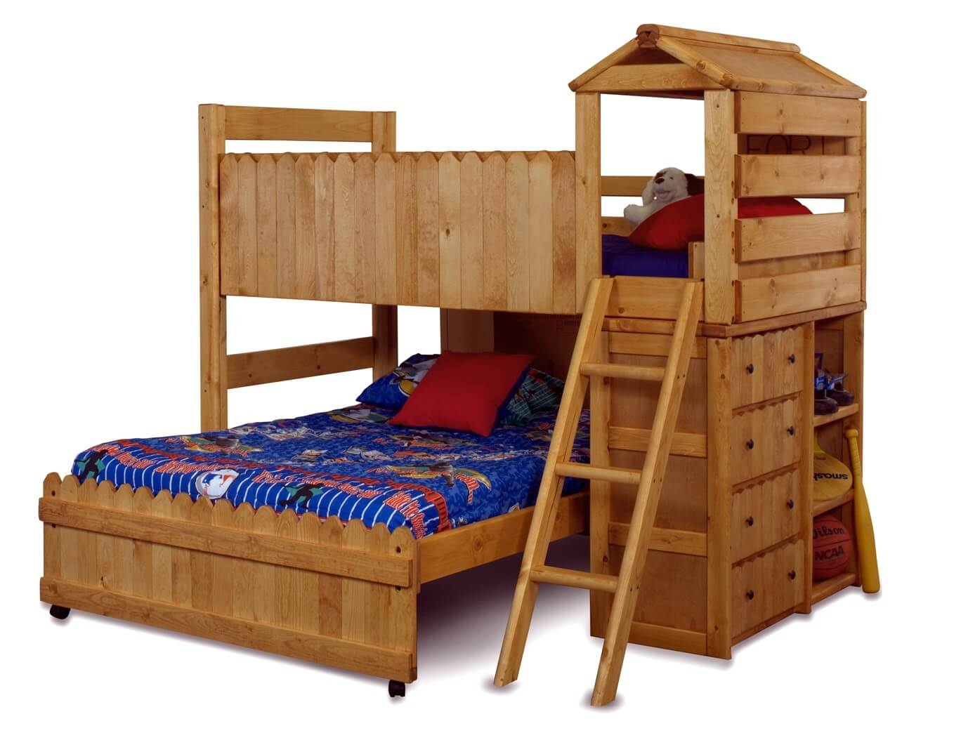 Twin Bed Frames For Boys 21 top wooden l-shaped bunk beds (with space-saving features