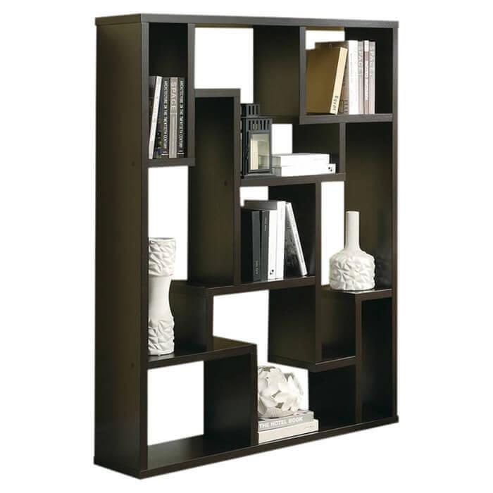 4way 9 cube bookshelf .