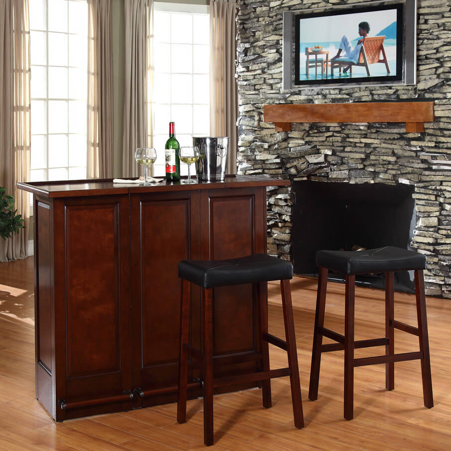 30 top home bar cabinets sets wine bars elegant fun. Black Bedroom Furniture Sets. Home Design Ideas
