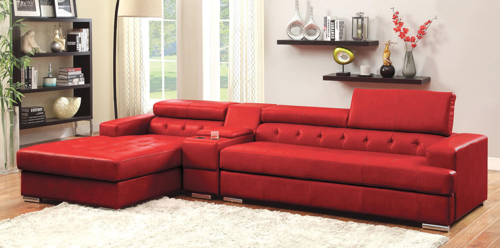 Red Sectional Sofa | aign.digimerge.net