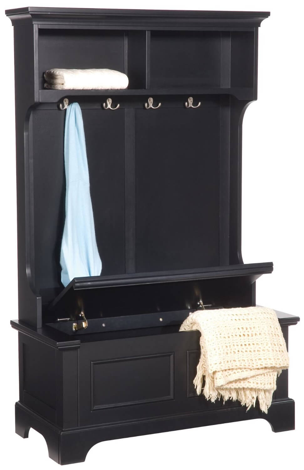 Wonderful Elegant This Is A Beautiful Entry Hall Storage Unit With A Storage Bench It  Could Work With Mudroom Storage.