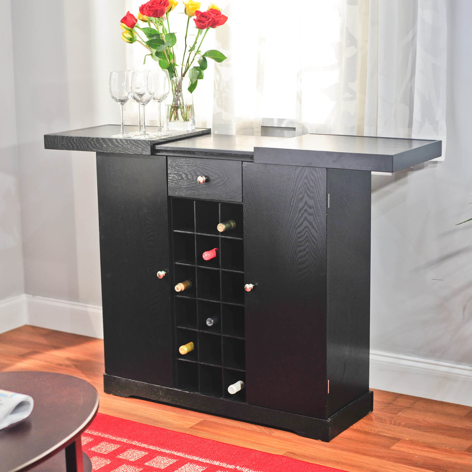 This Is A Classic Cabinet Instead Of A Bar. We Included It In This Gallery .