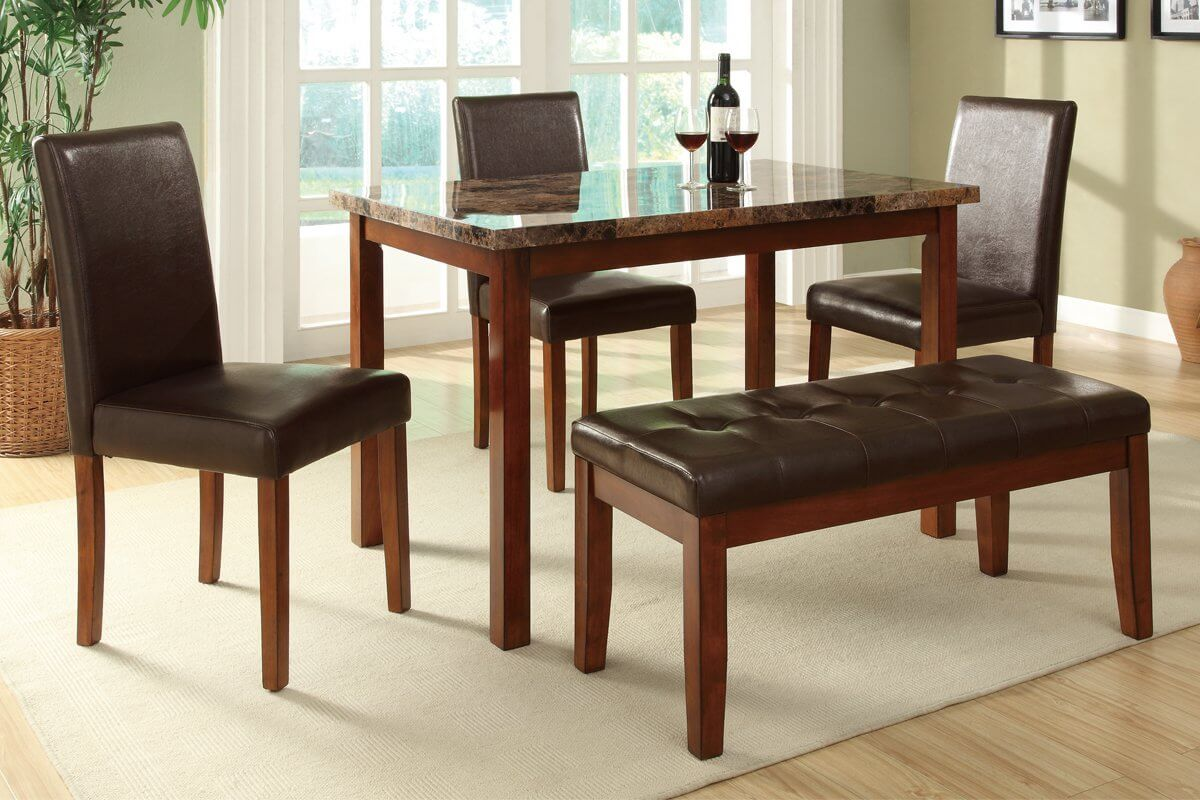 Dining Room Table With Benches Dining Dining Table With Bench Seating Is Also A Kind Of Dining