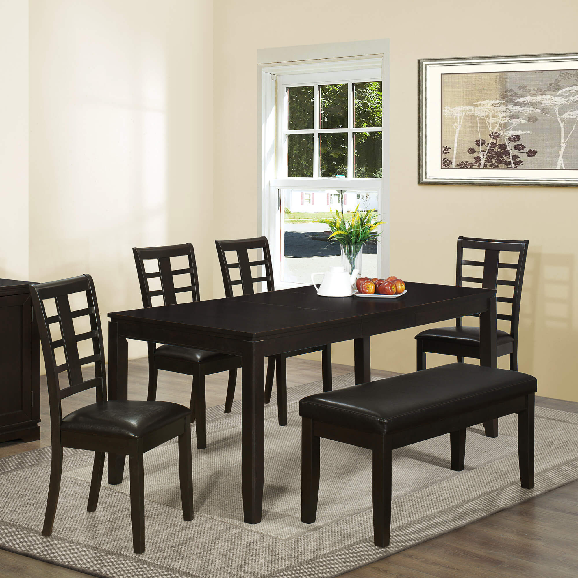 26 Big Small Dining Room Sets With Bench Seating: 26 Big & Small Dining Room Sets With Bench Seating