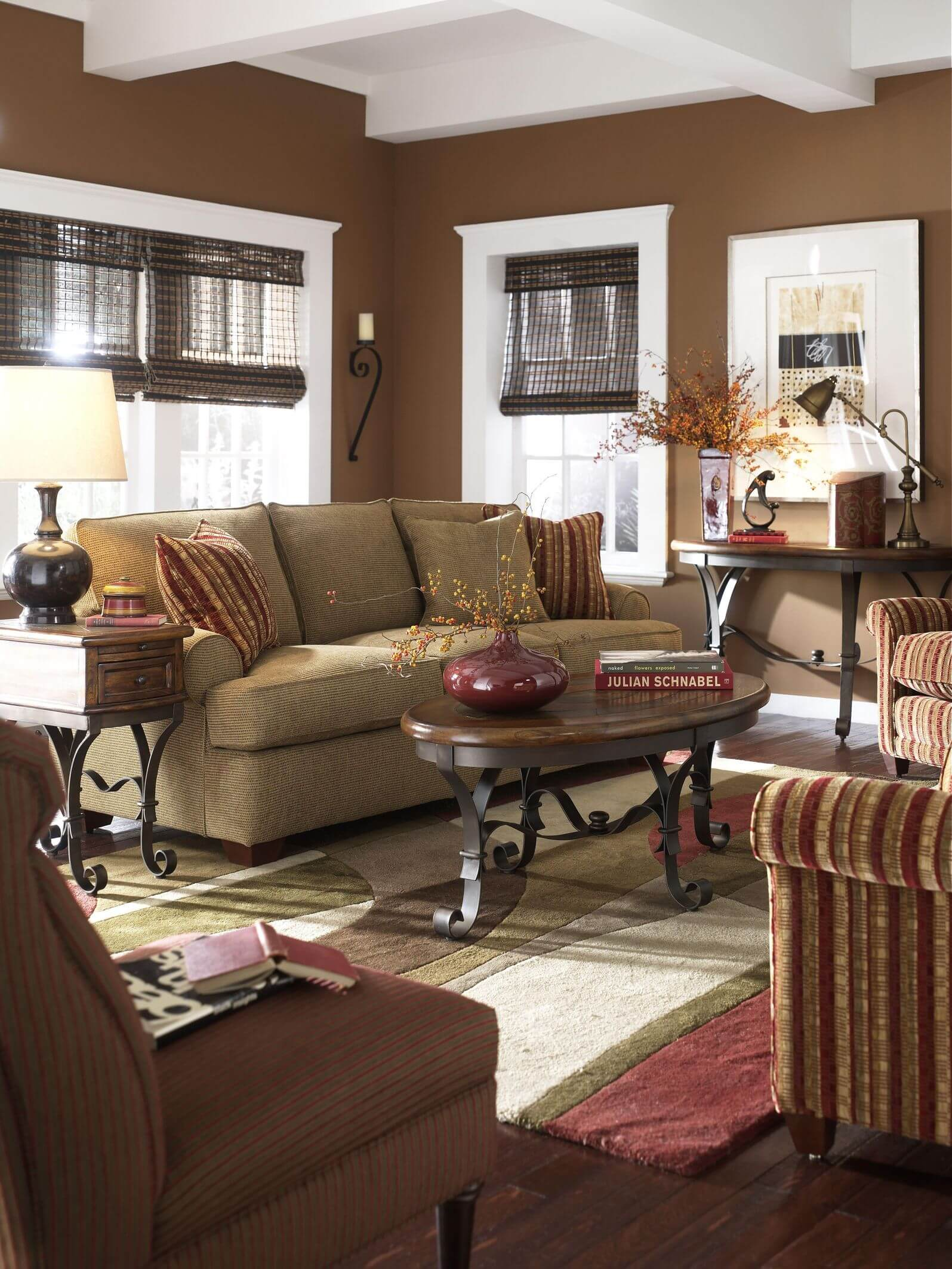 Swell 40 Living Rooms With Area Rugs For Warmth Richness Short Hairstyles Gunalazisus