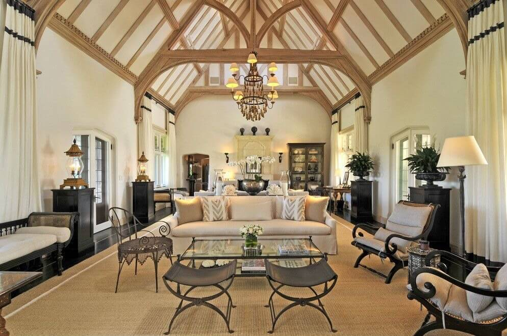 Cool 54 Living Rooms With Soaring 2 Story Cathedral Ceilings Largest Home Design Picture Inspirations Pitcheantrous