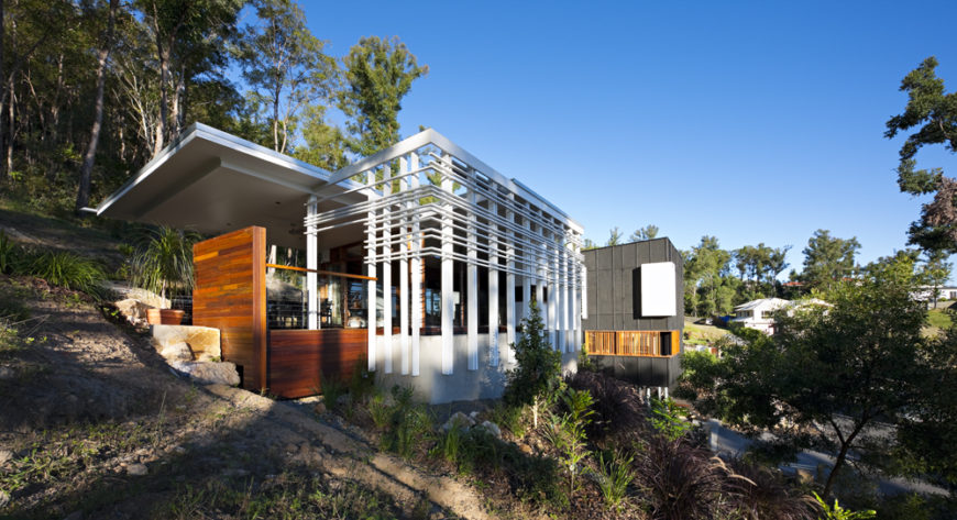 Hillside Stonehawke House By Base Architecture