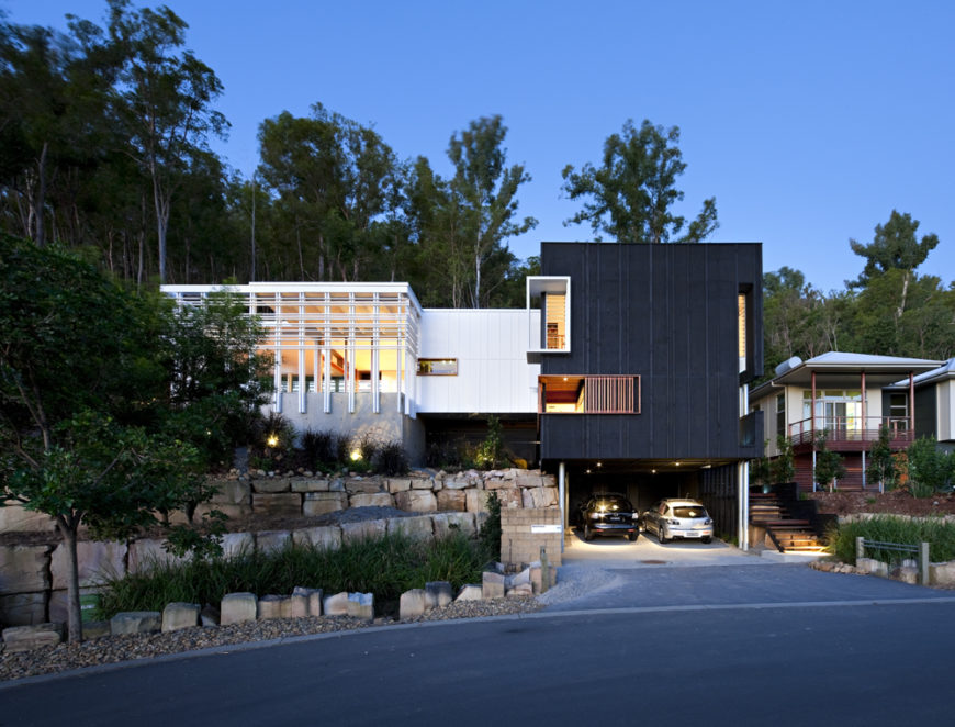Hillside Quot Stonehawke House Quot By Base Architecture