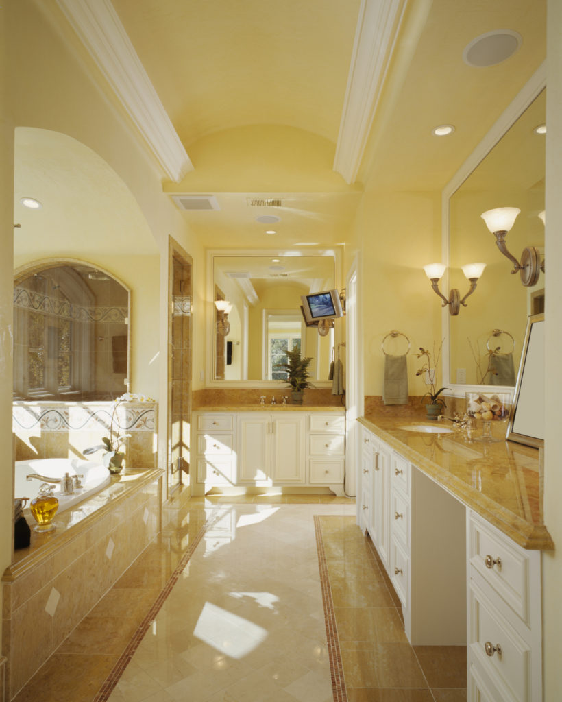 Luxury White Master Bathroom Ideas Pictures White And Gold Bathroom Ideas