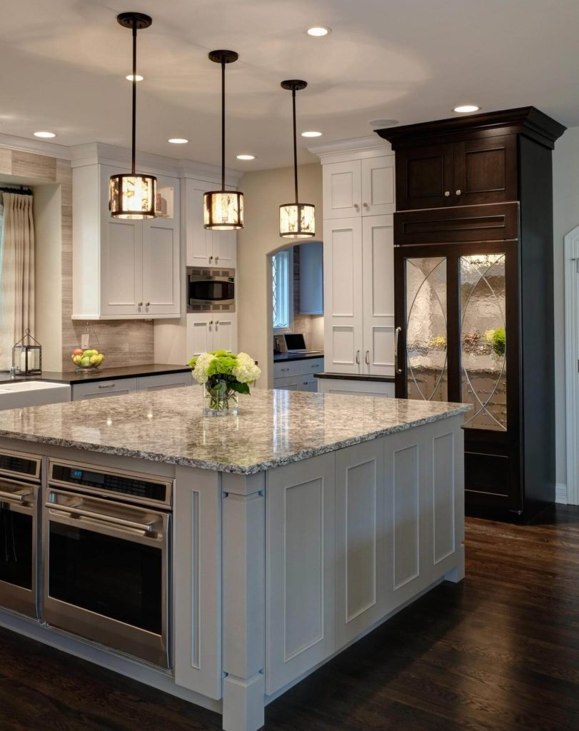 multi functional transitional hinsdale kitchen by drury design