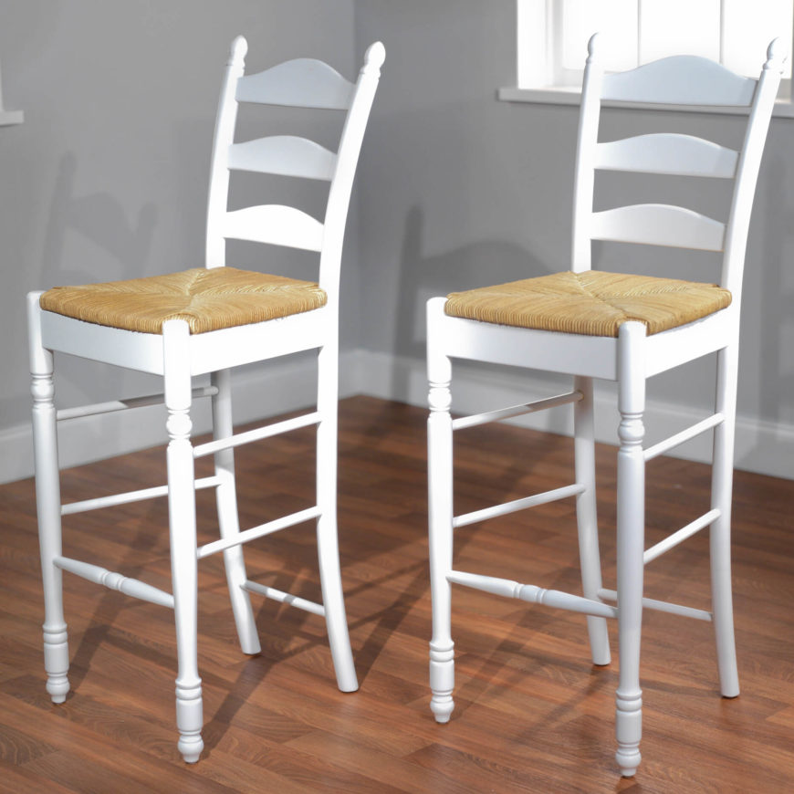 Low Back Metal Counter Stools