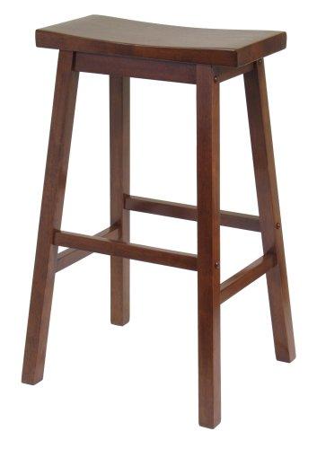 Walnut saddle stool.  sc 1 st  Home Stratosphere & 52 Types of Counter u0026 Bar Stools (Buying Guide) islam-shia.org