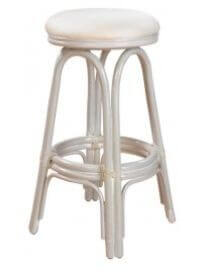 Example of  short stool with a height of 23 inches.