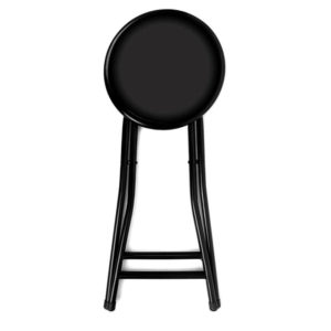 Simple backless folding stool with cushioned seat in folded position.  sc 1 st  Home Stratosphere & 52 Types of Counter u0026 Bar Stools (Buying Guide) islam-shia.org