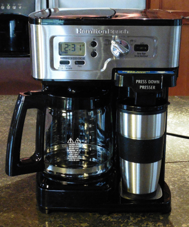 Coffee Maker Just Stopped Working : Hamilton Beach 2-Way FlexBrew Coffee Maker Review