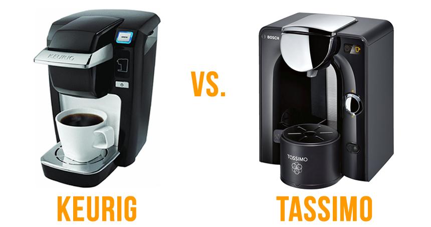 Best Coffee Maker Keurig Or Tassimo : Keurig vs. Tassimo Single Serve Coffee Makers - What s Better?