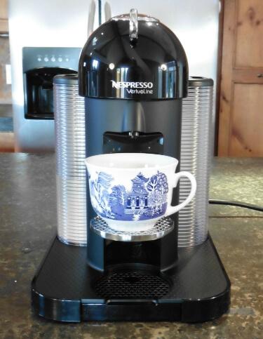 Nespresso Vertuoline accommodates shorter cups