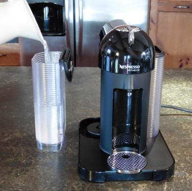 Nespresso Vertuoline detachable water reservoir