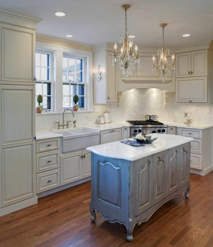 Traditional White Kitchen Cabinets Ideas: 32 Magnificent Custom Luxury Kitchen Designs By Drury Design