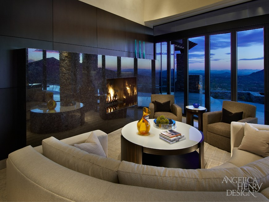Contemporary Desert Home Interior Design By Angleica Henry Design