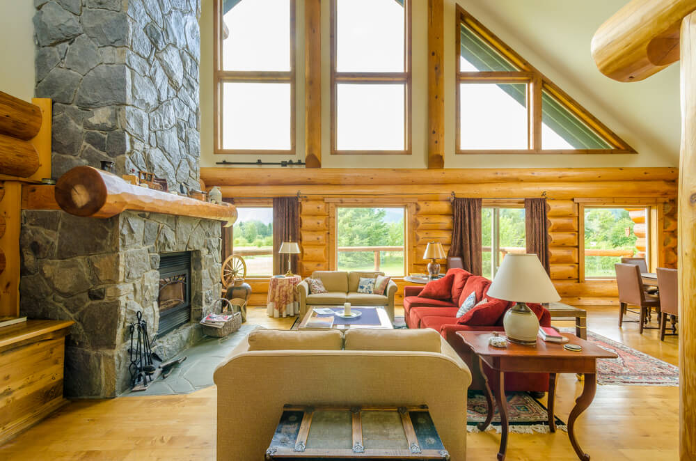 63 beautiful family room interior designs - Cabin Design Ideas