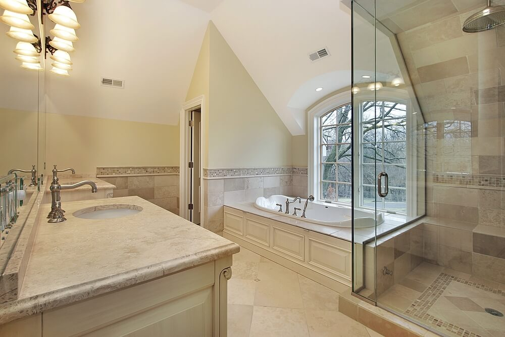 Bathroom Lighting Vaulted Ceiling 45 modern bathroom interior design ideas