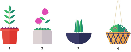 Types of garden containers