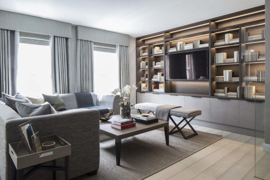 Roselind Wilson Design Creates Luxurious 1,700 Sq Ft Flat