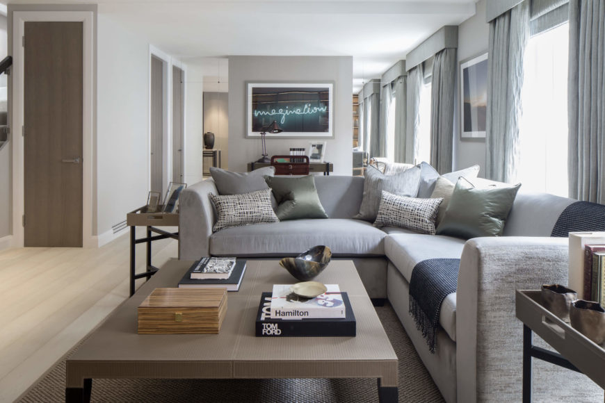 Roselind Wilson Design Creates Luxurious 1,700 Sq Ft Flat