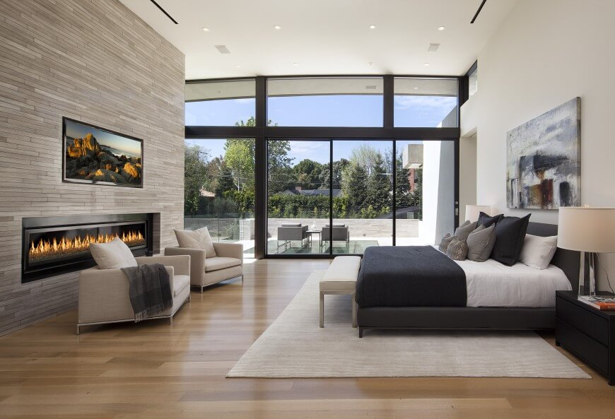 38 gorgeous master bedrooms with hardwood floors Modern minimalist master bedroom