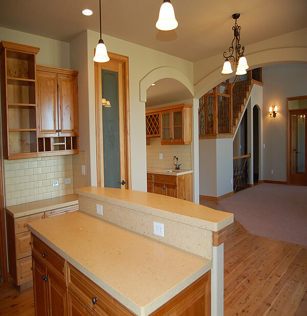 Mini Kitchen Area: 11 Amazing Archway Ceiling Designs By CEILTRIM Inc