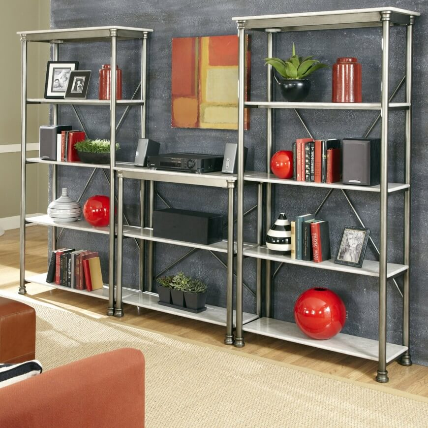 Metal construction allows for lighter weight designs, more shape options,  and a look that .