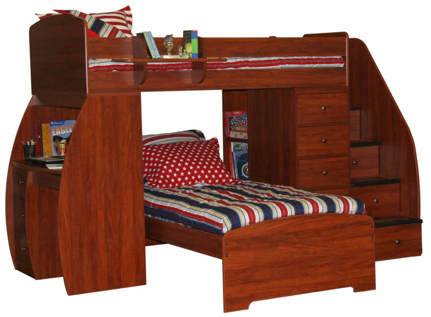 how to fix a wooden bunk bed 2