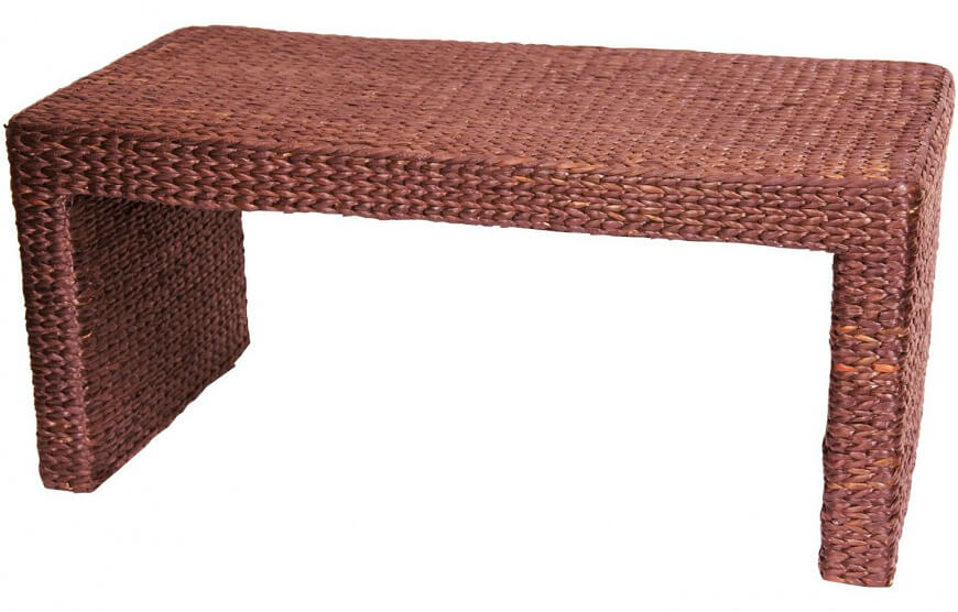 Ordinary Different Types Of Coffee Tables Part   3: Rattan, Or Wicker, Is