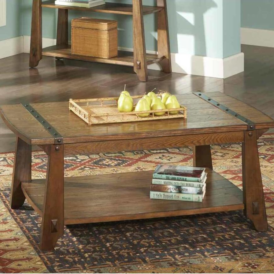 Rustic Modern Coffee Table: 22 Different Types Of Coffee Tables (Ultimate Buying Guide