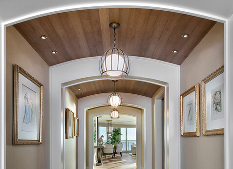 11 amazing archway ceiling designs by ceiltrim inc for Barrel ceiling ideas