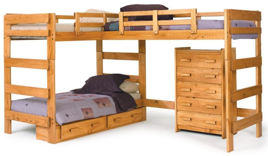 As the name implies, a triple bunk bed has sleeping space for three ...