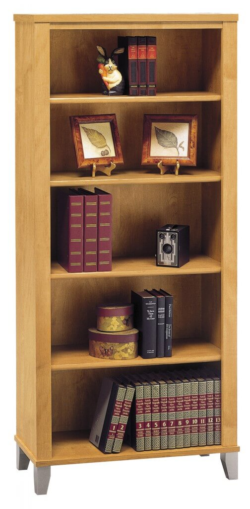 Wood frames comprise the most extensive and far reaching category of  bookcases on the market today .