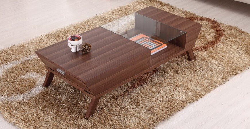 Wood Construction Is, As Always With Tables Of Any Variety, The Most Common  Construction .