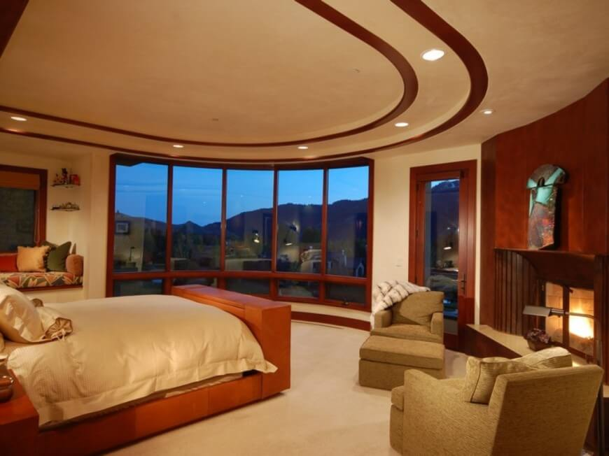 33 incredible master bedroom designs from top designers for Bedroom designs usa