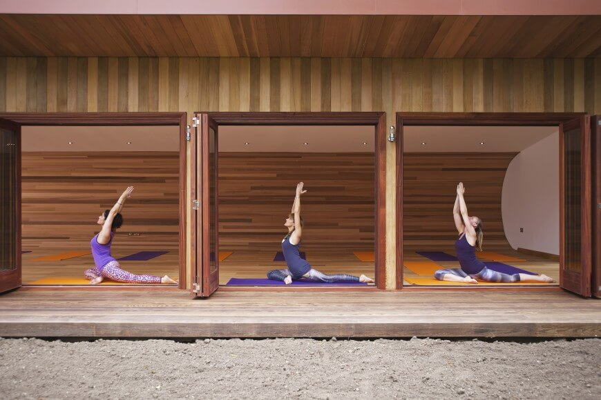 Sublime Yoga Studio By Blue Forest Treehouse Design