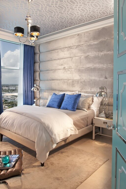 Dkor Interiors Designs Hollywood Regency Style Home