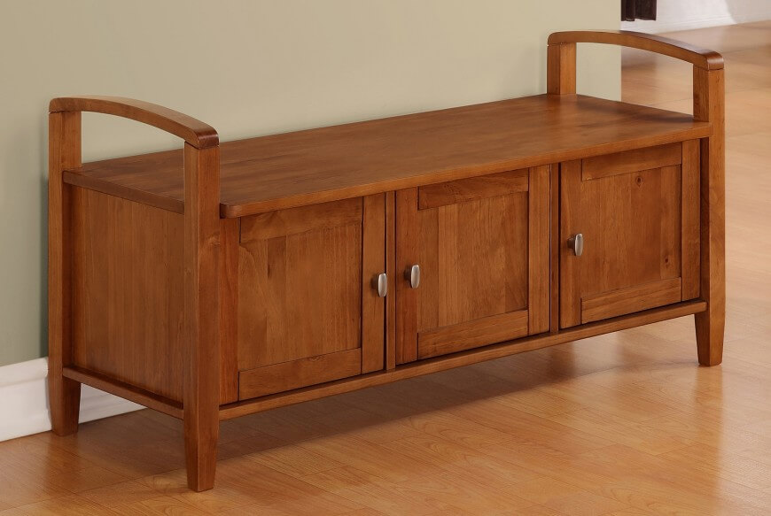 Superb Bench Types Part - 7: The Cabinet Storage Bench, Similar To The Cubby Type, Features Storage  Access On The