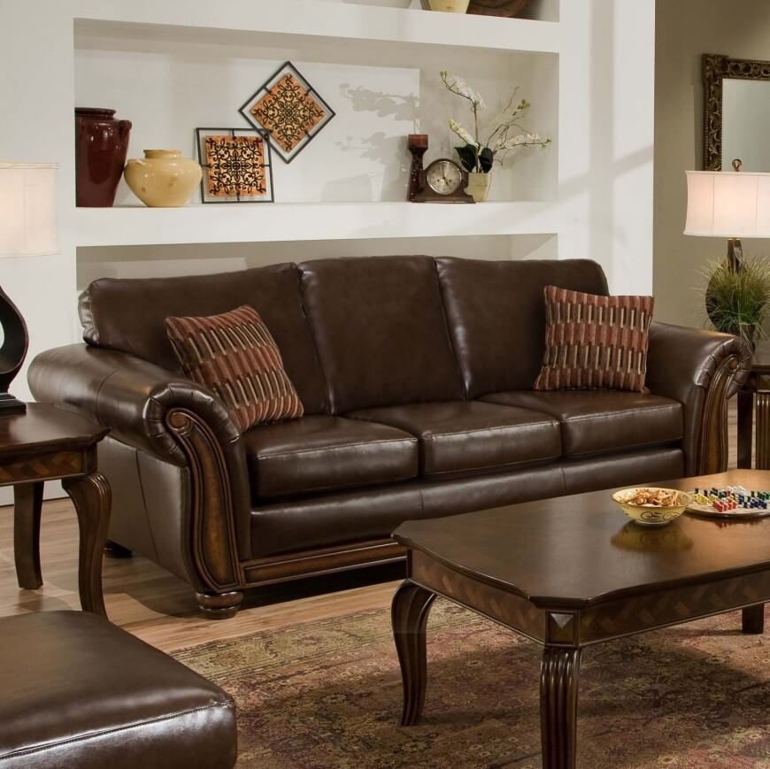 20 comfortable living room sofas many styles - Cheap comfortable living room chairs ...