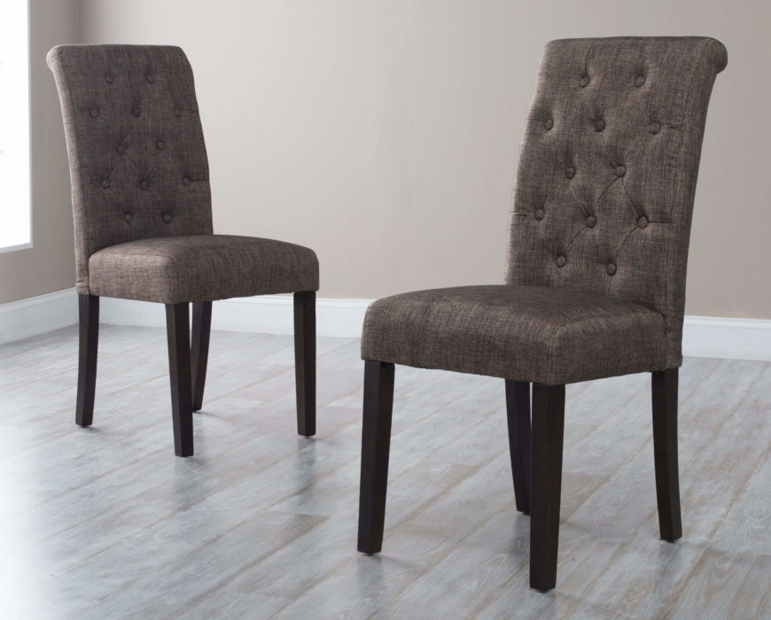 different types of dining room chairs