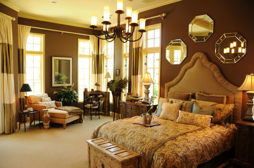 44 stylish master bedrooms with carpet for Country style bedroom suites