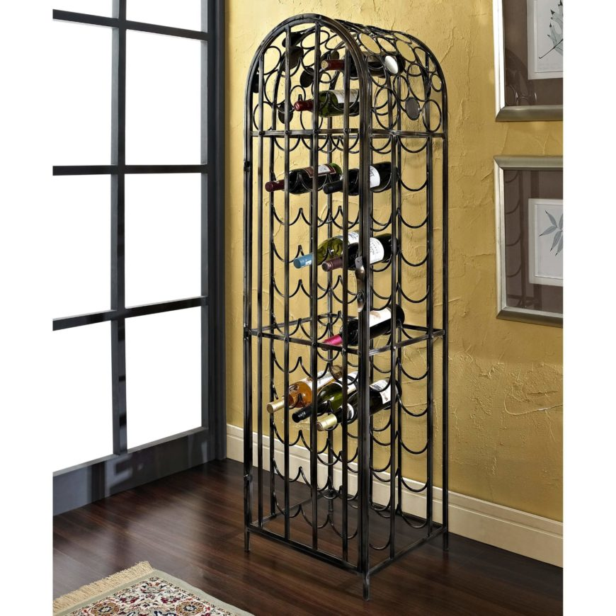 22 types of wine racks ultimate buyers guide - Wine rack shaped like wine bottle ...