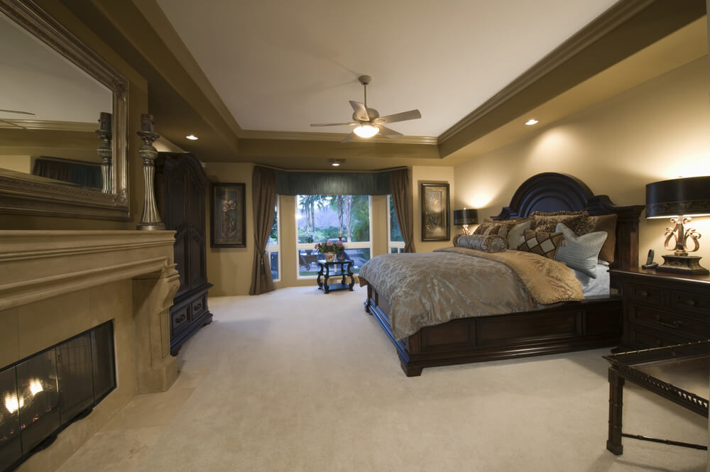 carpet for master bedroom 44 stylish master bedrooms with carpet 14705