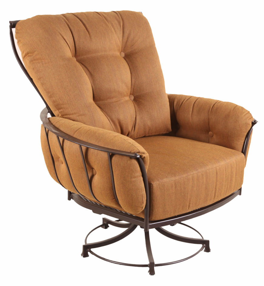 Metal outdoor club chairs - For A More Extreme Variation On The Club Chair We Bring You This Swivel Design