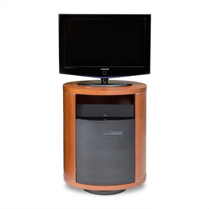 The Swivel Design TV Stand Sets The Entire Structure Upon A Rotating  Platform, Allowing For .